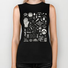 Curiosities: Bone Black Biker Tank
