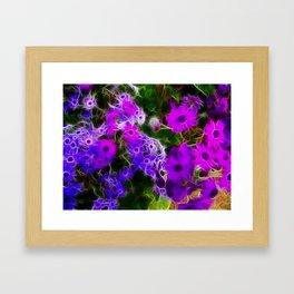 Field of Purple Framed Art Print
