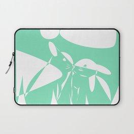 Carnival Glass Bunny Love Laptop Sleeve