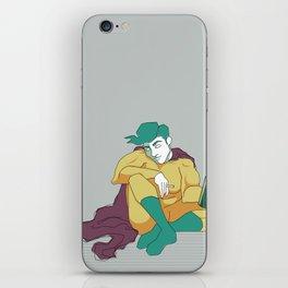 superhero´s tragedy iPhone Skin