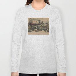 Vintage Illustration of Noahs Ark (1907) Long Sleeve T-shirt