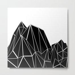 Mountains B1 Metal Print