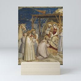 Giotto di Bondone - Adoration of the Magi Mini Art Print