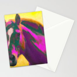 Horse, Wild Stationery Cards