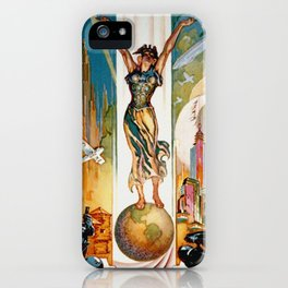 Vintage World's Fair Chicago IL 1933 iPhone Case