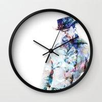 django Wall Clocks featuring Django by NKlein Design