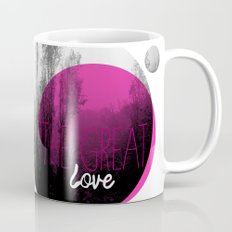 The great love - romantic photography and typography design Mug