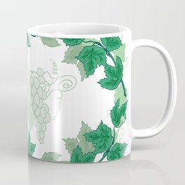 Abstract frame from grapevines Coffee Mug