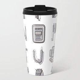 Machine Letters GREY Travel Mug