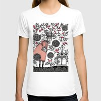 agnes T-shirts featuring Winter Garden by Judith Clay