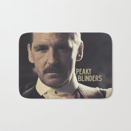 Peaky Blinders, Paul Anderson is Arthur Shelby, Cillian Murphy is Thomas Shelby, Tom Hardy Bath Mat