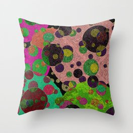 Moon Bounce Throw Pillow