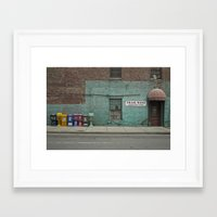 newspaper Framed Art Prints featuring Newspaper? by Faka