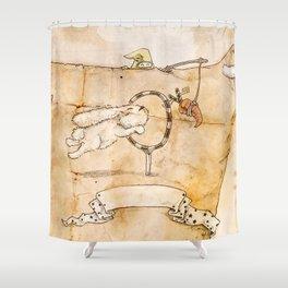 HEAD HUNTING- IV Shower Curtain