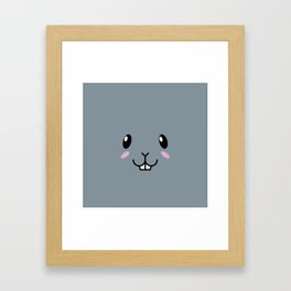 Baby Bunny. Kids & Puppies Framed Art Print