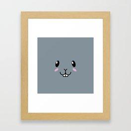 Baby Bunny. Kids & Puppies Framed Art Print