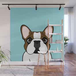 Frenchie - Fawn Pied Wall Mural
