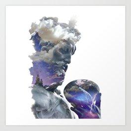 Zeus 2 Art Print