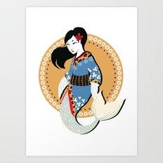 Lil'Geisha Art Print