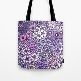 Faded Blossoms Tote Bag