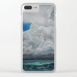 Gathering Storm Clear iPhone Case