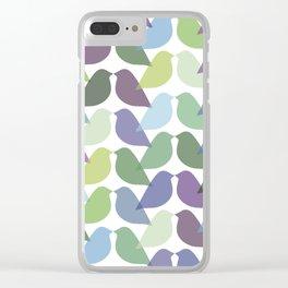 Birdies Clear iPhone Case