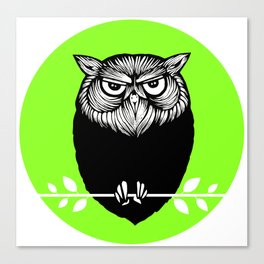 Ms. Owl Canvas Print