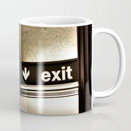 Cafe/Exit Coffee Mug