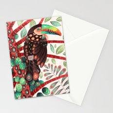 Toucan In A Fruit Tree Stationery Cards