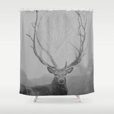 The Deer Shower Curtain
