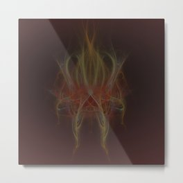 play with the fire Metal Print