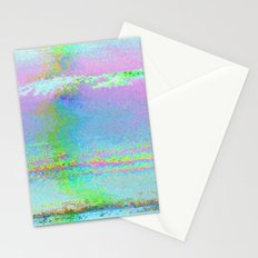 08-24-89 (Digital Drawing Glitch) Stationery Cards