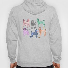 Poodles by Veronique de Jong Hoodie