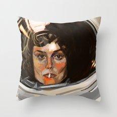 E. Ripley Throw Pillow