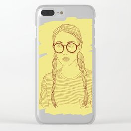 Ms Sunshine Clear iPhone Case