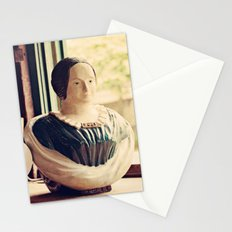 Woman in a Window Stationery Cards