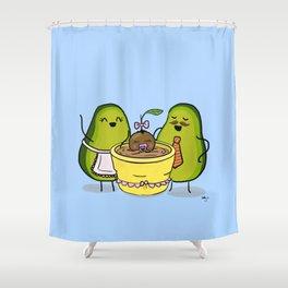 Proud Parents Shower Curtain