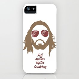 Just another hipster douchebag #1 iPhone Case