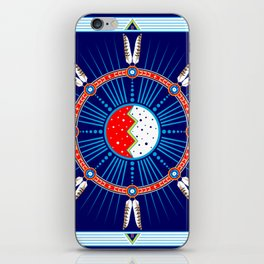 Crazy Horse Dreaming iPhone Skin