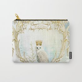 Owl Let it Snow Carry-All Pouch