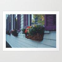 Flowers of Algernon. Art Print