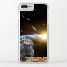 The View From Here Clear iPhone Case