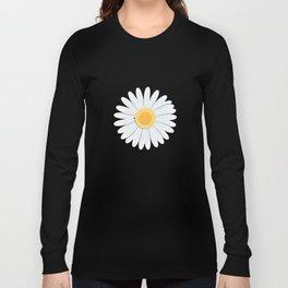 Spring Daisies_Blue Sky Long Sleeve T-shirt