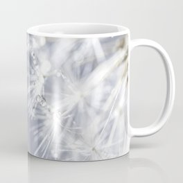 Sparkling dandelion with droplets - Flower water Coffee Mug