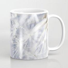 Sparkling dandelion with droplets - Flower water Coffee Mug