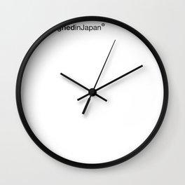 WhiteStripes Wall Clock