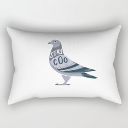 Stay Cool Pigeon Rectangular Pillow