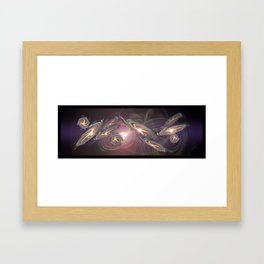 PROPAGATION IN THE UNIVERSE Framed Art Print