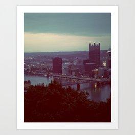 Pittsburgh III Art Print
