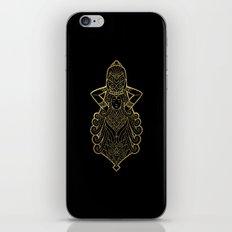 Aquarius Gold iPhone Skin